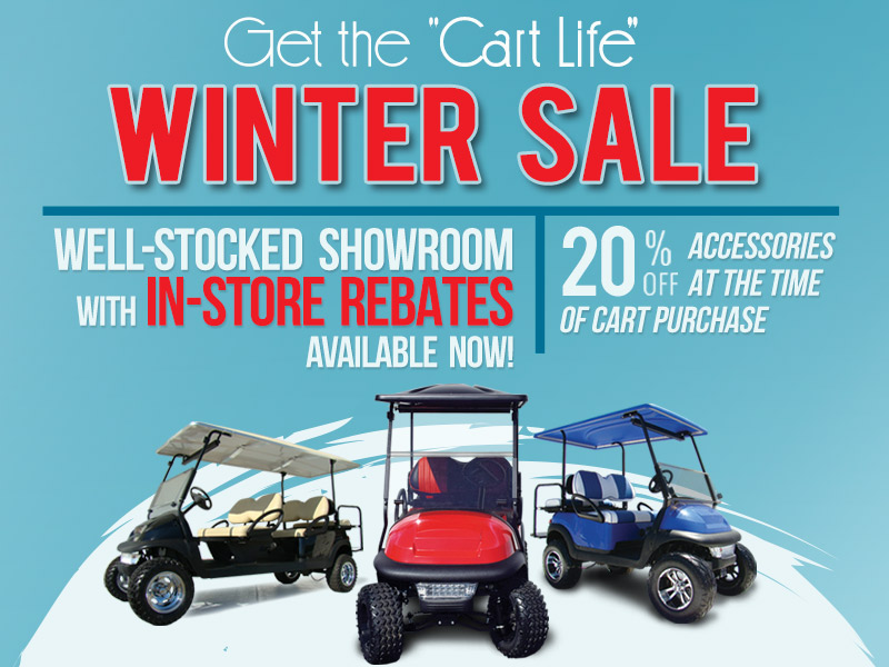 KOC Cart Life Winter Sale Pop Up