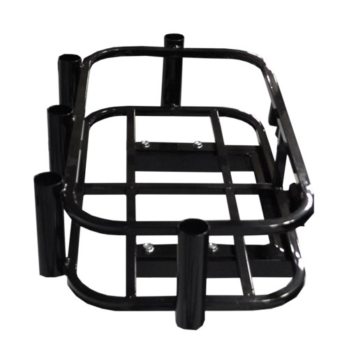 Cooler/Rod Holder Rack