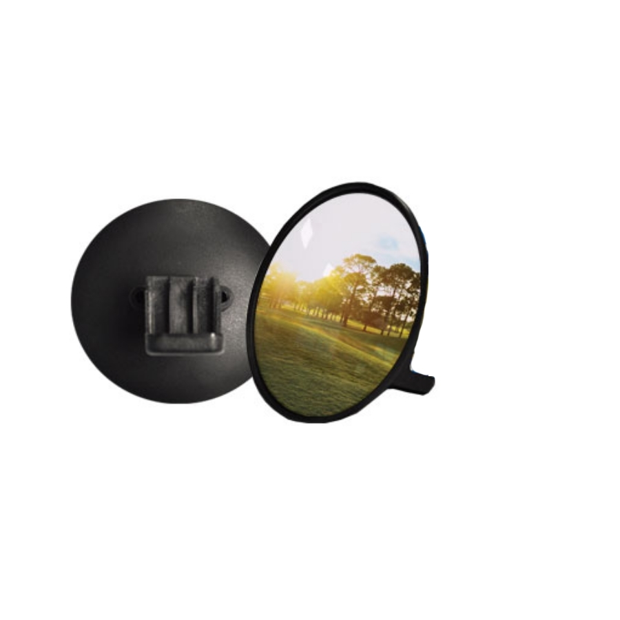 3'' Universal Rounded Convex Mirror