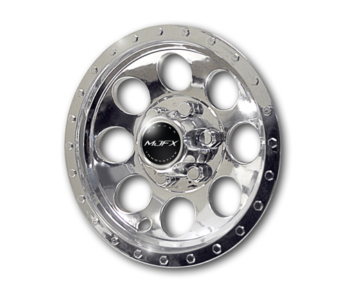 10 Inch Chromed Golf Cart Wheel Covers