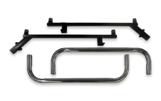Club Car Precedent Nerf Bar Black Stainless Steel