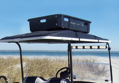 Cargo Caddie Plastic Cargo Box With Straps