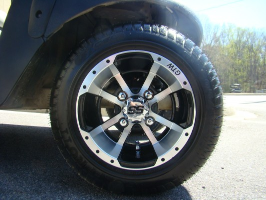 10 Inch Storm Trooper Wheel and Low Profile Street Tire Combo