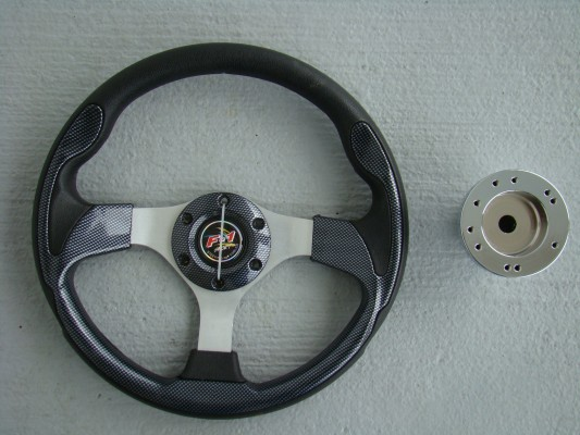 Steering Wheel Combo - 12.5 Pursuit - Carbon Fiber - DS