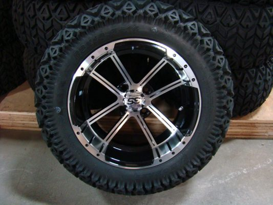 14 Inch Factory One Storm Tire and Wheel Combo
