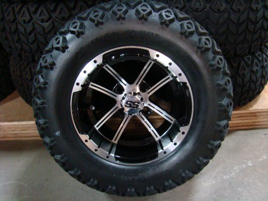 12 Inch Factory One Storm Tire and Wheel Combo