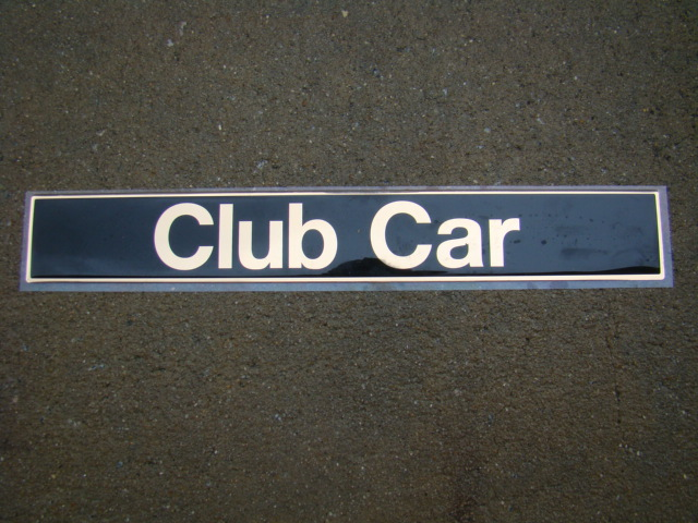 Club Car DS  Emblem