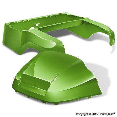 DoubleTake Club Car Precedent Body Kit Factory Style Lime