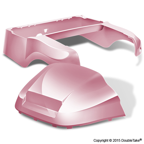 DoubleTake Club Car Precedent Body Kit Factory Style Pink
