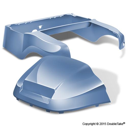 DoubleTake Club Car Precedent Body Kit Factory Style Sky Blue