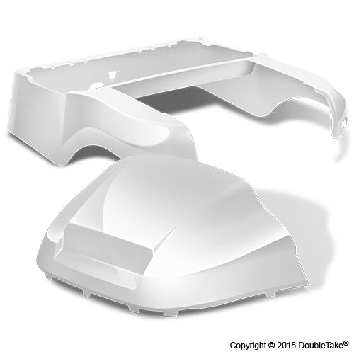 DoubleTake Club Car Precedent Body Kit Factory Style White
