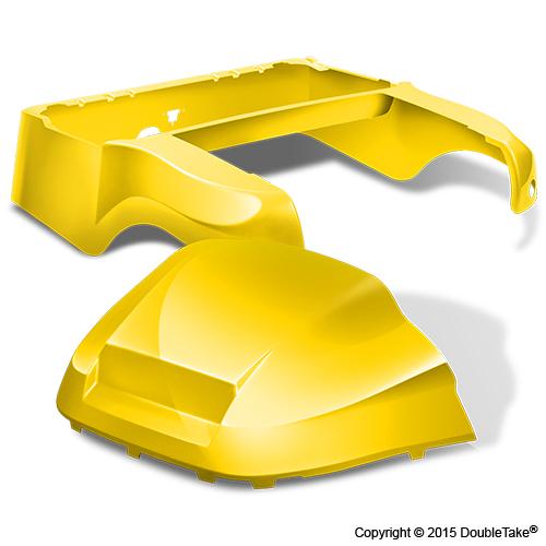 DoubleTake Club Car Precedent Body Kit Factory Style Yellow