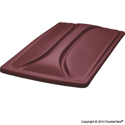 80 Inch Double Take Extended Top for Club Car Precedent - Burgundy
