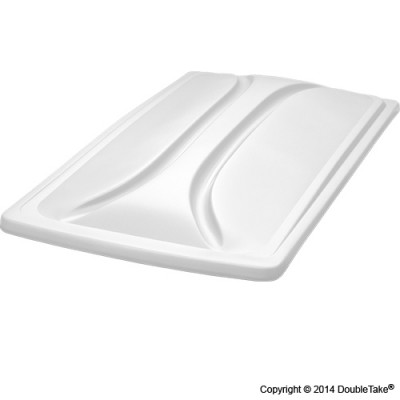 80 Inch Double Take Extended Top for Club Car Precedent - White