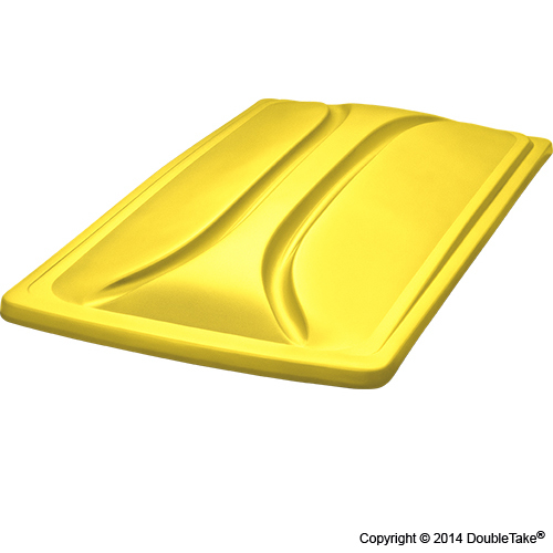 80 Inch Double Take Extended Top for Club Car Precedent - Yellow
