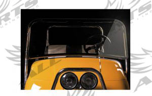 Short Golf Cart Windshield - EZ-GO RXV