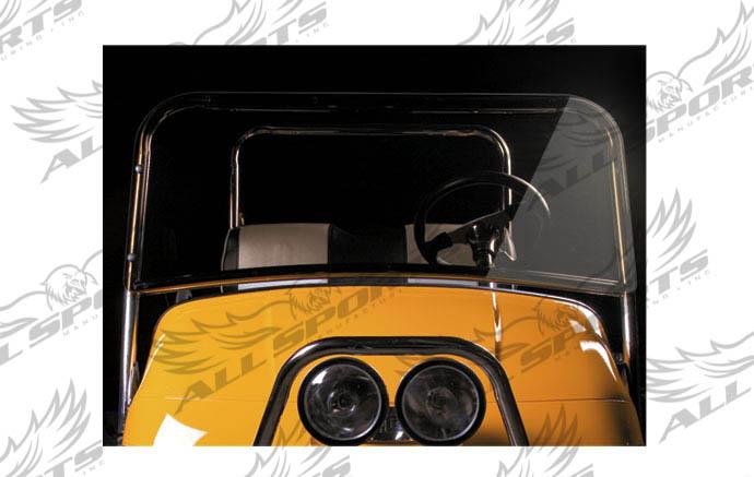 Short Golf Cart Windshield - EZ-GO TXT