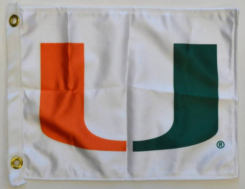 12 x 18 University of Miami Flag
