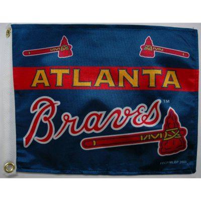 12 x 18 Atlanta Braves Flag