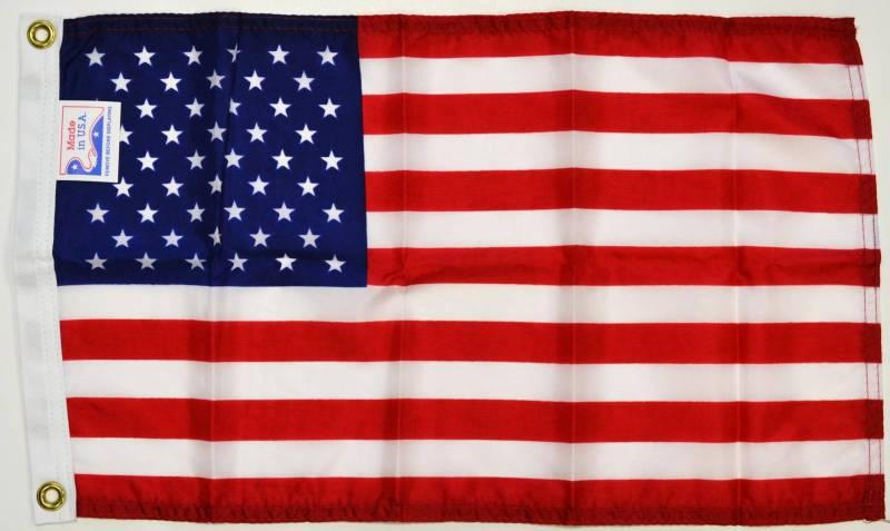 12 x 18 USA Golf Cart Flag