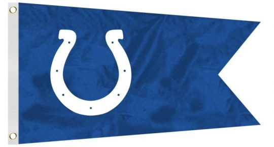 12 x 18 Indianapolis Colts Flag