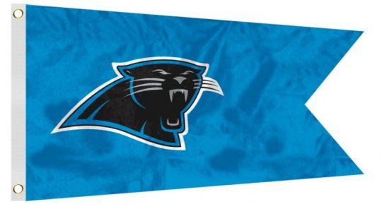 12 x 18 Carolina Panthers Flag