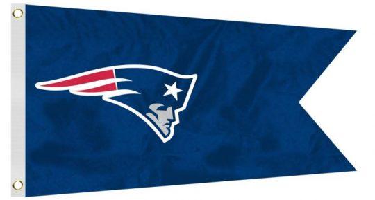 12 x 18 New England Patriots Flag