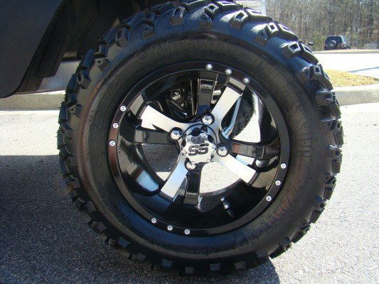 12 Inch Twister Wheel and All Terrain Tire Combo