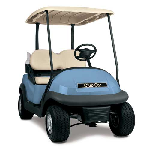 Club Car Precedent OEM Golf Cart Body - Light Blue