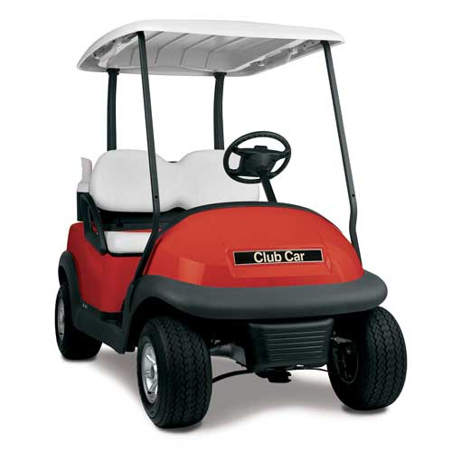 Club Car Precedent OEM Golf Cart Body - Red