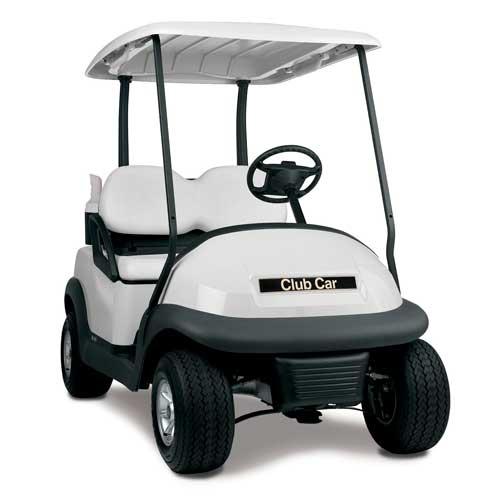 Club Car Precedent OEM Golf Cart Body - White