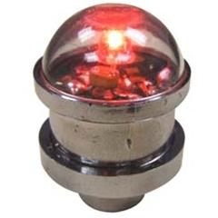 Valve Stem Cap Light Red