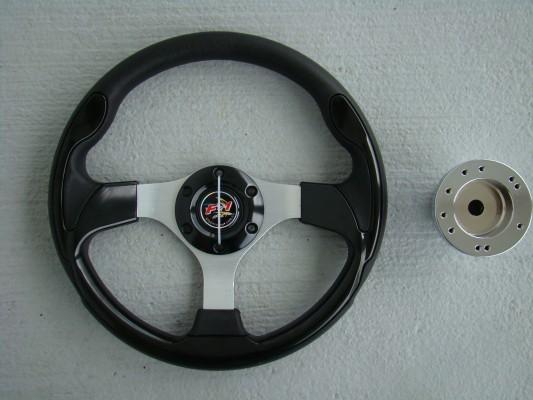 Steering Wheel Combo - 12.5 Pursuit- Black - Yamaha Drive