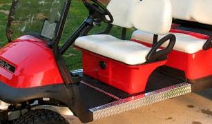 6 Passenger Precedent Golf Cart Nerf Bars