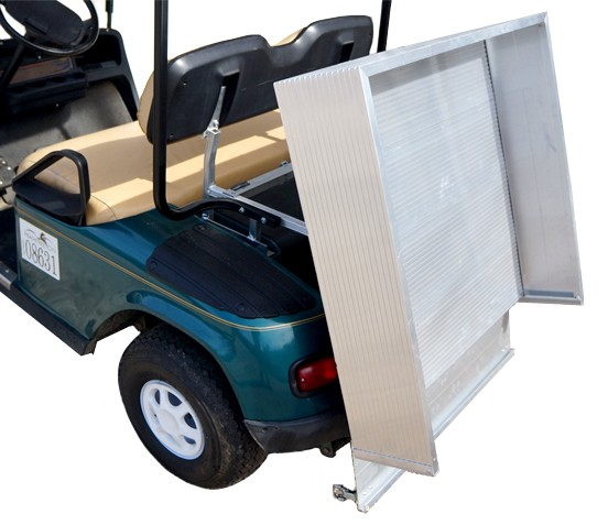 Aluminum Dumping Cargo Bed Yamaha Drive