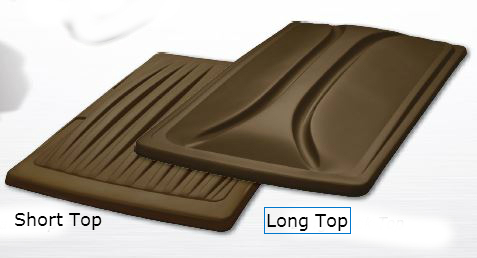 80 Inch Double Take Extended Top for Club Car Precedent - Bronze