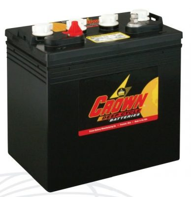 Crown CR-150 Deep Cycle 8V Battery