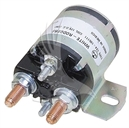 Solenoid, 12V 4 Terminal Silver