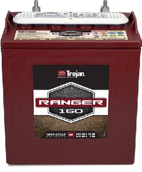 Trojan 8V Ranger 160 Golf Cart Battery