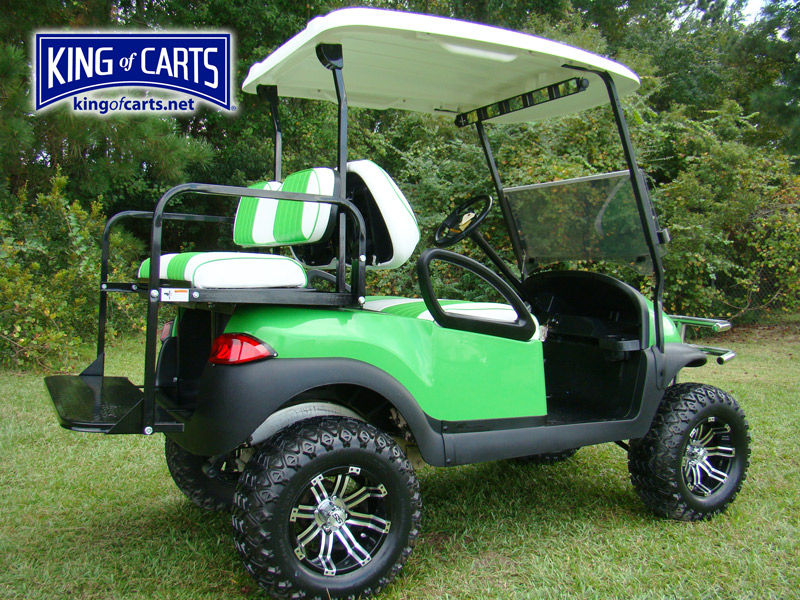 Used Club Car Roof King Of Carts Beach Buggy Lifted Lime