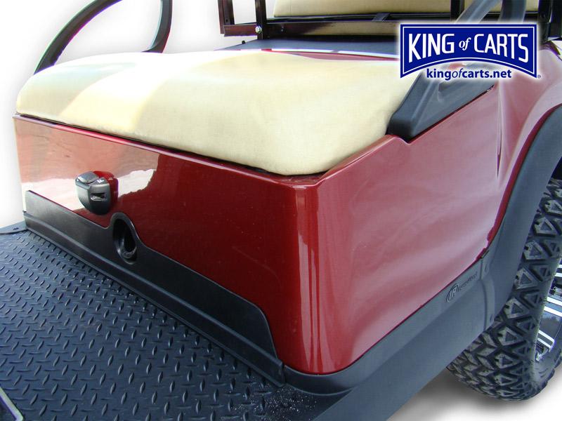 King of Carts CLIC - Lifted - Metallic Burgundy Golf Cart Red Lifted Golf Cart Burgandy on red ezgo golf cart, red dot enclosures golf cart, lifted ezgo golf cart, car wheels on lifted golf cart, red custom golf cart, red chevy golf cart, super lifted golf cart, red golf cart illustration, lifted yamaha golf cart, red jack up golf carts,