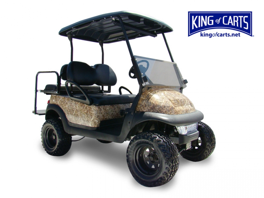 King of Carts JUDGE - Lifted - Long Leaf - Hunting Golf Cart Golf Cart Seat Designs Html on